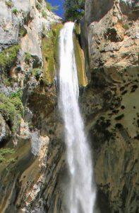cascade de courmes